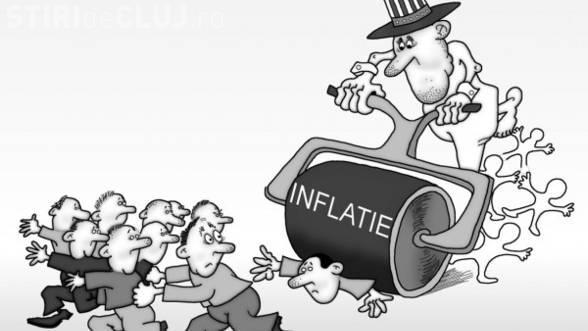 Inflația este la cel mai mare nivel din ultimii patru ani