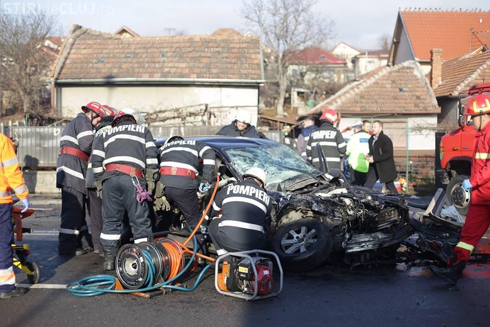 Tragedie la Cluj-Napoca în ziua de Crăciun! Accident mortal pe Calea Baciului FOTO