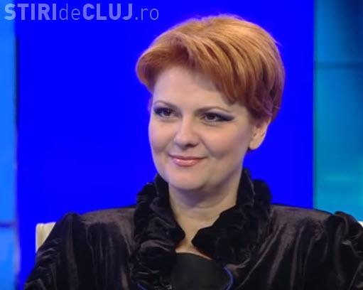 Lia Olguţa Vasilescu: Nu vreau să fiu premier