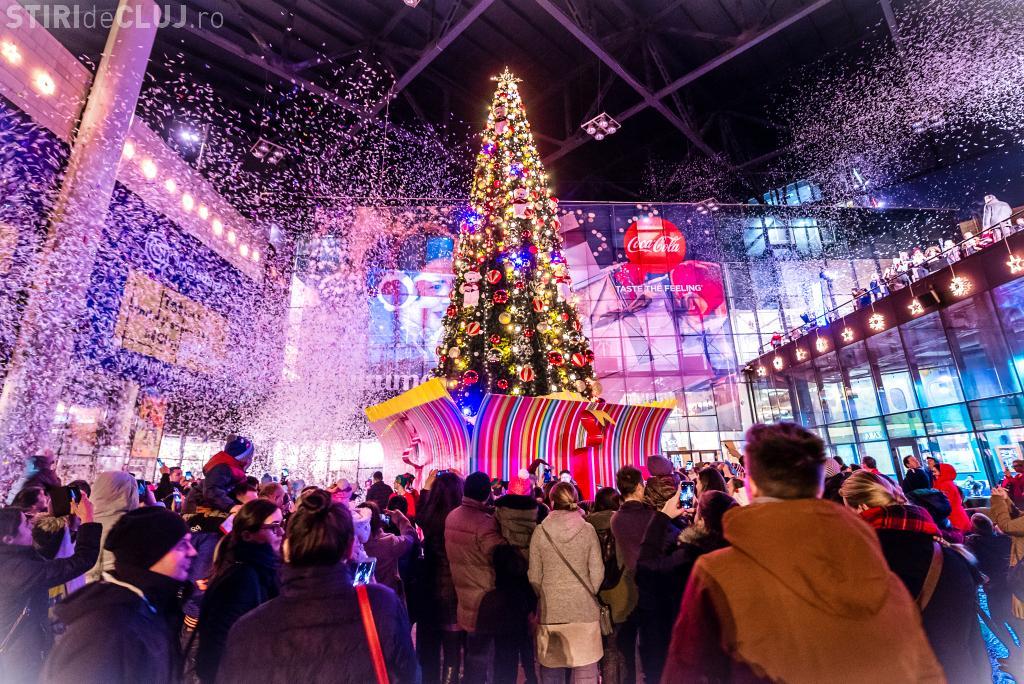 Program de sărbători la Iulius Mall Cluj. Vezi când va fi deschis în perioada Crăciunului și a Revelionului