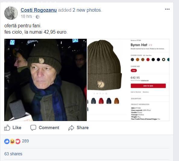 Cioloș acuzat că poartă un fes scump! Ambasada Suediei a intervenit