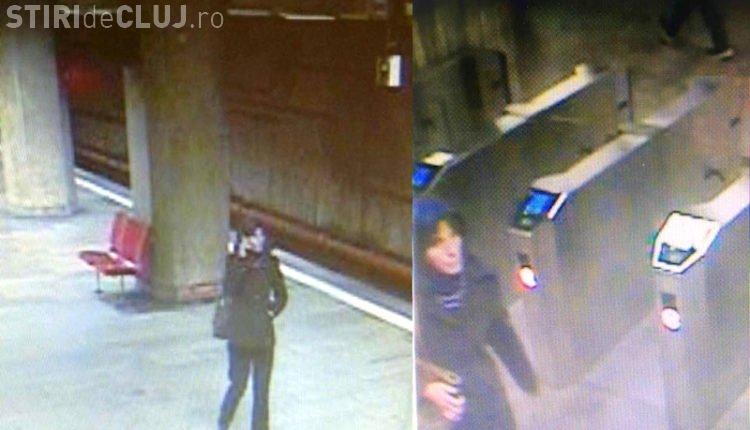 VIDEO cu crima de la metrou! Momentul în care tânăra a fost aruncată pe şinele metroului. Atentie- Imagini Socante!