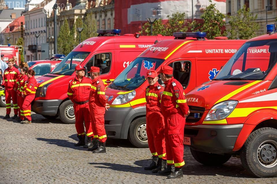 Primăria plătește masa echipajelor SMURD Cluj