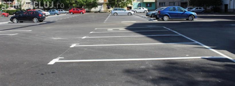 Cererile de noi locuri de parcare în cartierele clujene se pot depune online din ianuarie 2018