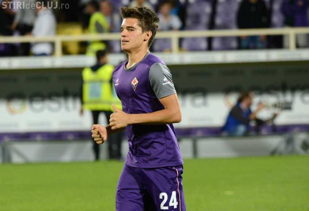 FC Viitorul vrea să îl cumpere definitiv pe Ianis Hagi de la Fiorentina
