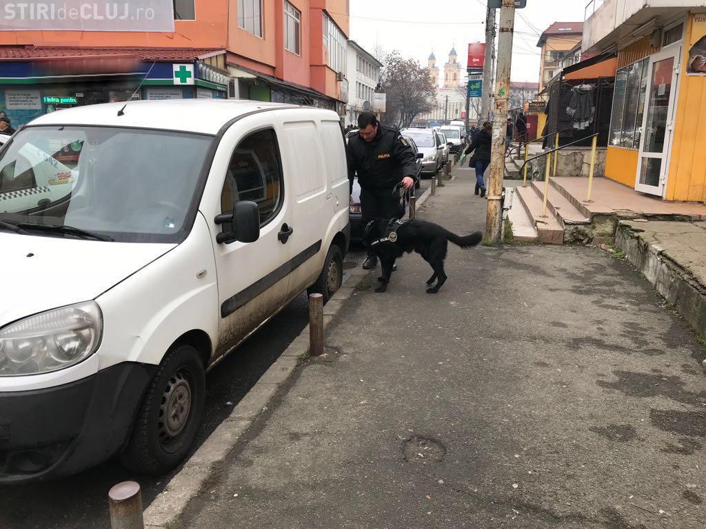 CLUJ: Razie în zona piețelor din Mărăști și centru. Câte amenzi au dat polițiștii în doar două ore