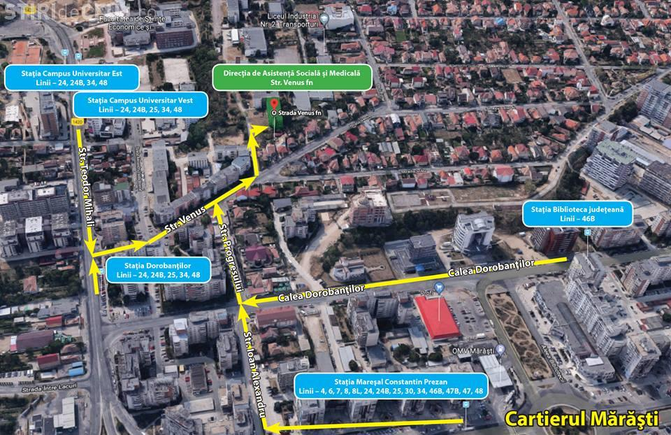 Sediul Direcției de Asistență Socială și Medicală Cluj-Napoca se mută. Vezi unde va trebui să mergi de acum