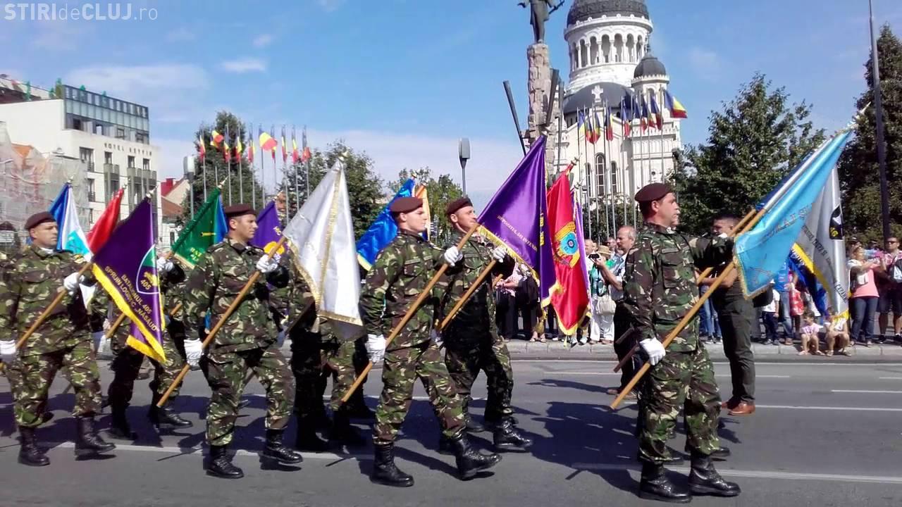 Manifestații la Cluj, de Ziua Unirii Principatelor. Are loc o depunere de coroane și defilare