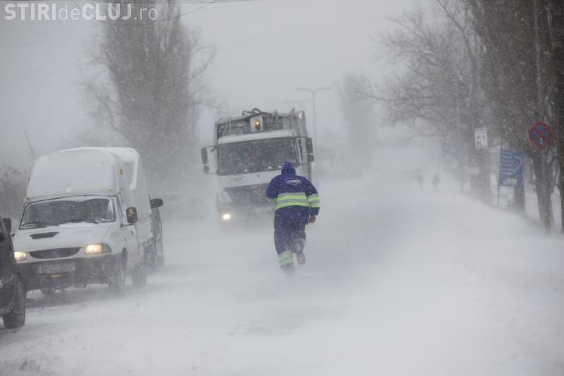 COD GALBEN de ninsori în Cluj. Ce spun meteorologii