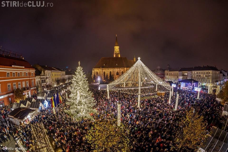 Târgul de Crăciun din Cluj se închide trei zile