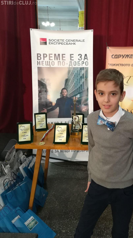 Chitaristul clujean Tudor TORGE a obținut premiul I la Pleven Guitar Festival, Bulgaria