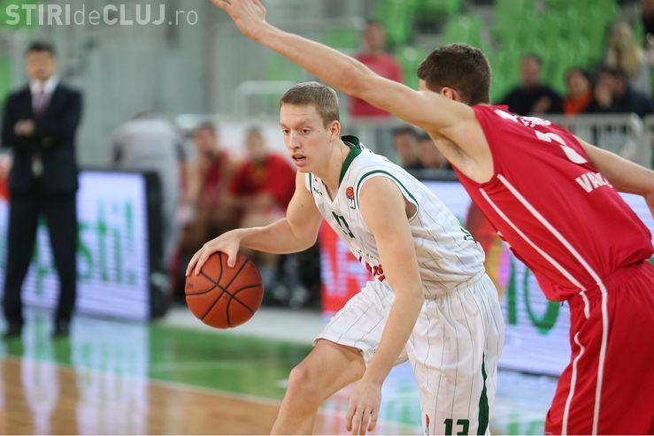 Miha Lapornik este noul jucător al U-Banca Transilvania