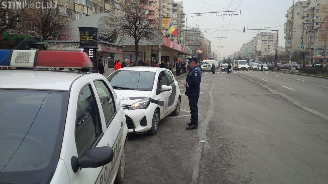Razie în zona piețelor din centru și Mărăști. Câte amenzi au dat polițiștii, în doar câteva ore