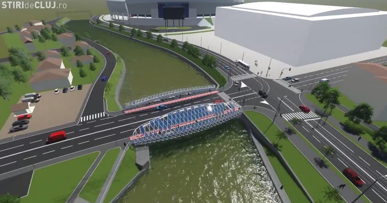 Podul Garibaldi nu se închide pe durata lucrărilor: Nu repetăm greșeala cu Podul Traian