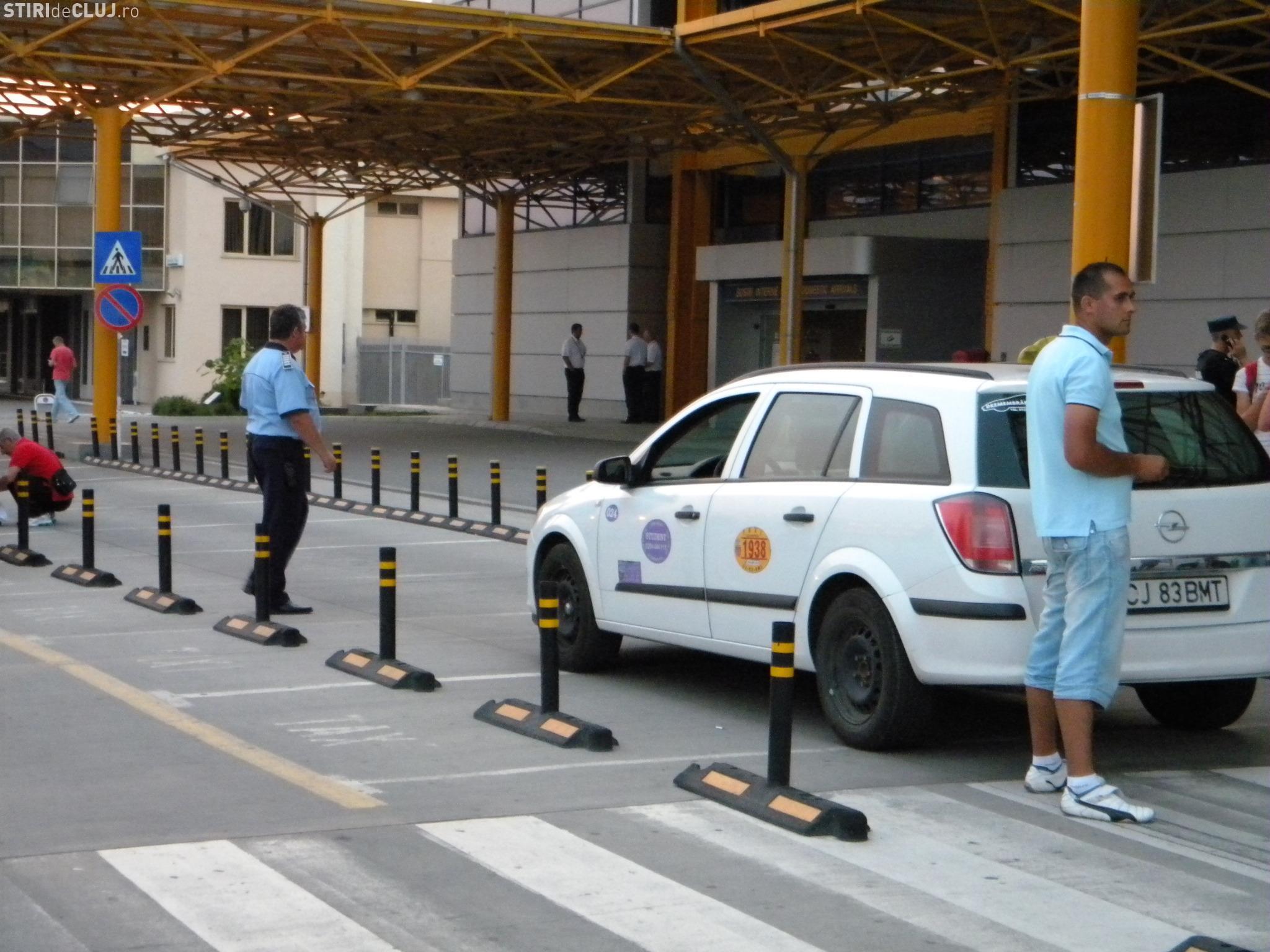 Cluj-Napoca: Amenzi de peste 6500 de lei, pentru taximetriștii din zona Aeroportului