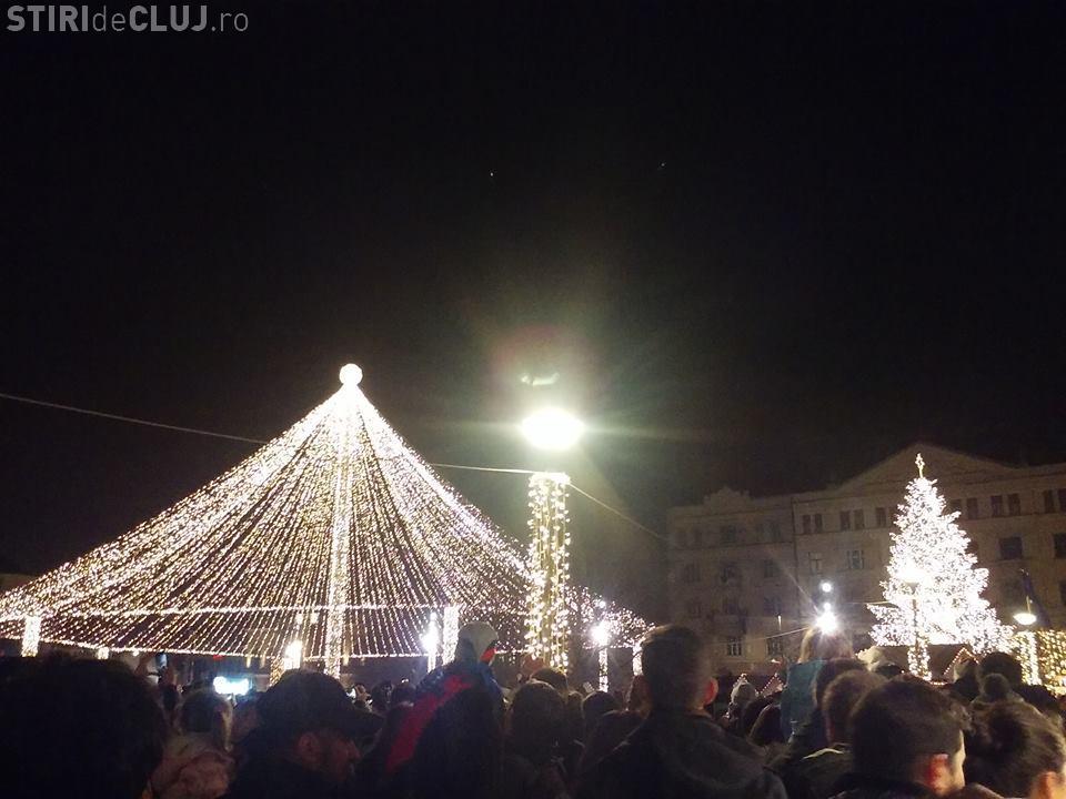 Târgul de Crăciun din Cluj e frumos, dar prețurile MARI