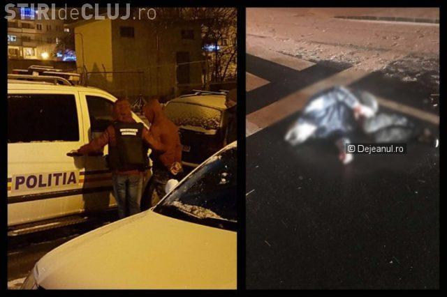 CLUJ: Un bărbat a fost bătut cu sălbăticie în stradă. A fost lovit cu bâtele până a ajuns în comă VIDEO