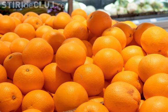Portocale și citrice toxice, conservate cu IMAZALIL. Cât sunt de periculoase