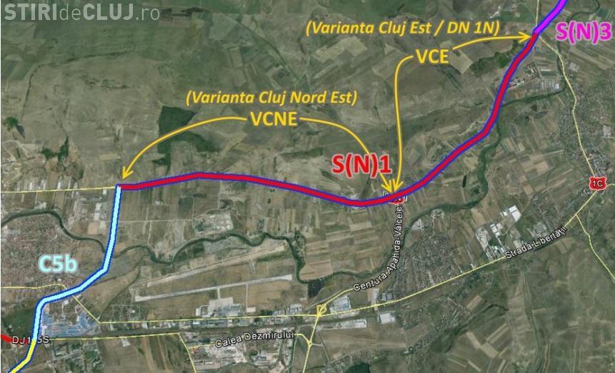 Harta Centurii Metropolitane A Clujului Pe Unde Va Trece Drumul