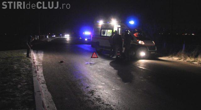 CLUJ: O femeie a fost lovită de mașină. Era beată și mergea haotic pe stradă VIDEO