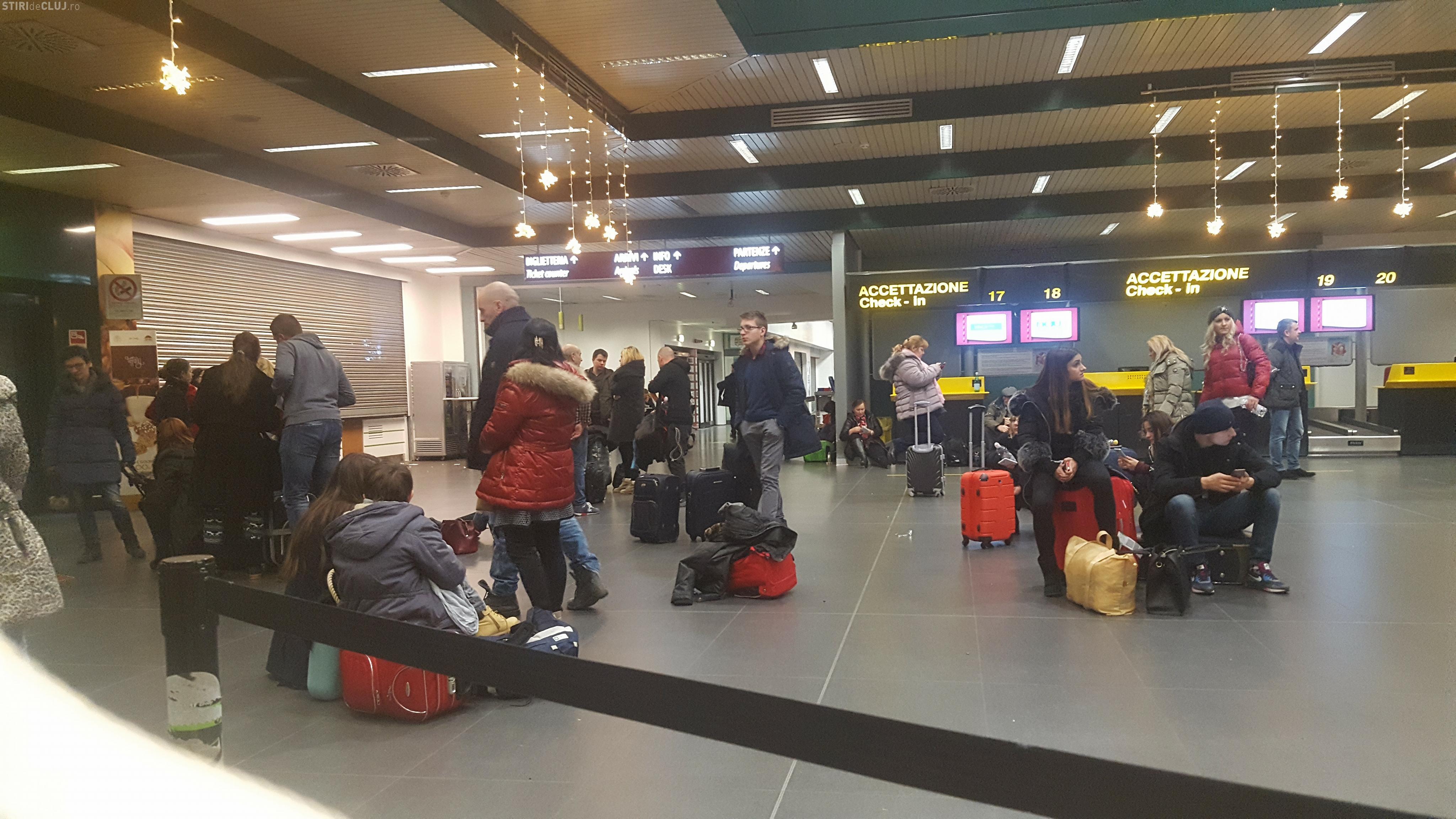 Zborul Bergamo - Cluj-Napoca, anulat. Prin ce au trecut pasagerii - VIDEO
