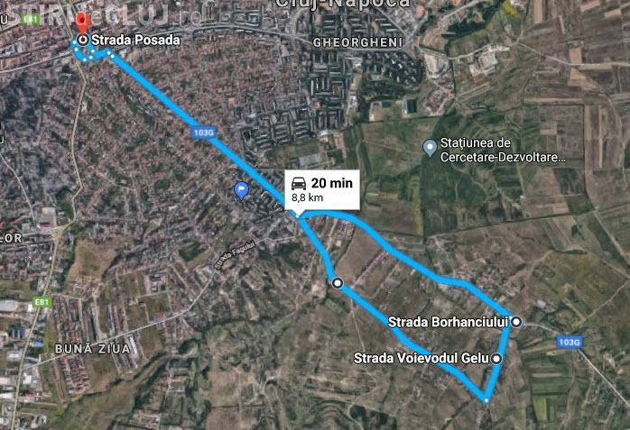 Cluj-Napoca: Nouă linie de autobuz: Centru - Romul Ladea - Borhanci