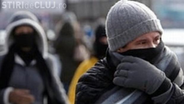 Revine gerul la Cluj! Vezi cât de frig va fi în weekend