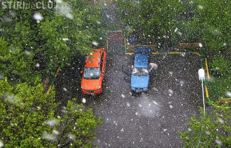 Urmează un weekend cu ninsori și lapoviță. Toată țara e afectată