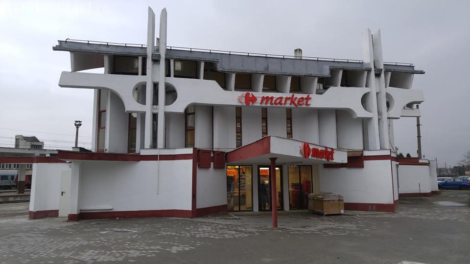 Gara mică din Cluj-Napoca s-a transformat în magazin - FOTO