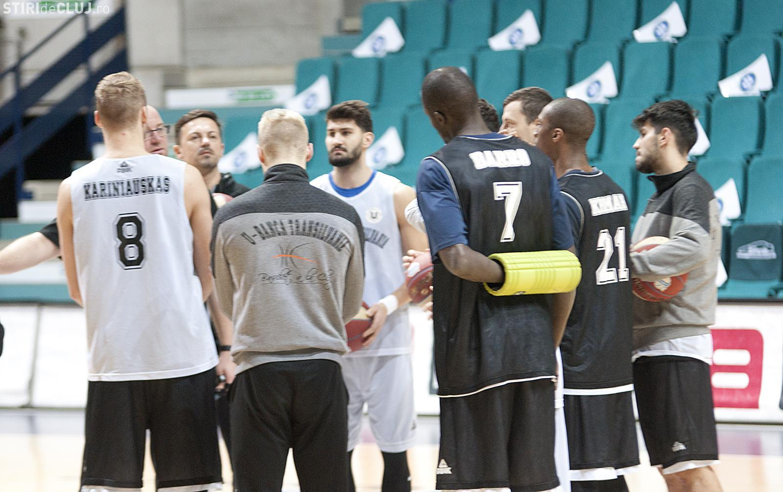 U-BT a învins Belfius Mons-Hainaut, în grupele FIBA Europe Cup