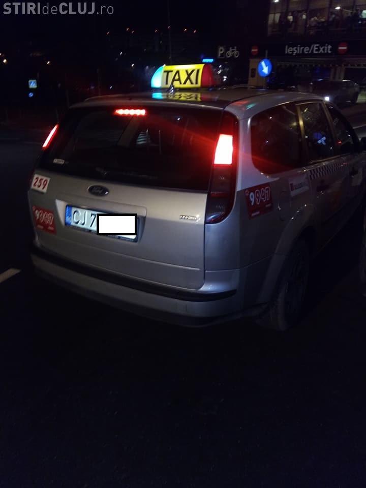 Pățania unui clujean cu un taximetrist de la Daniel Taxi - FOTO