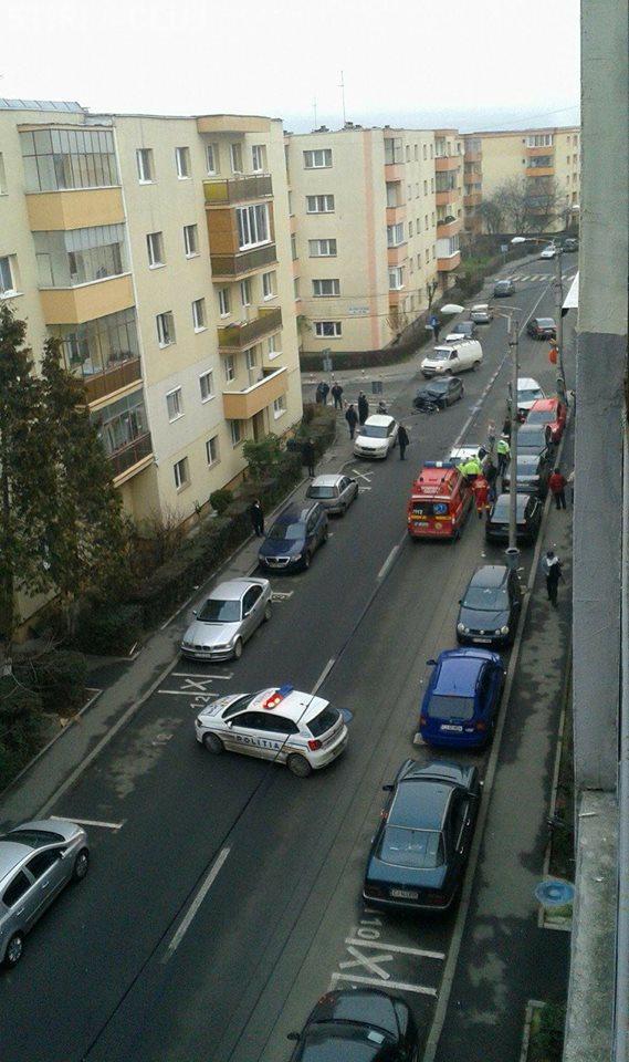 Accident grav pe strada Fabricii de Zahăr! Cinci mașini au fost implicate FOTO