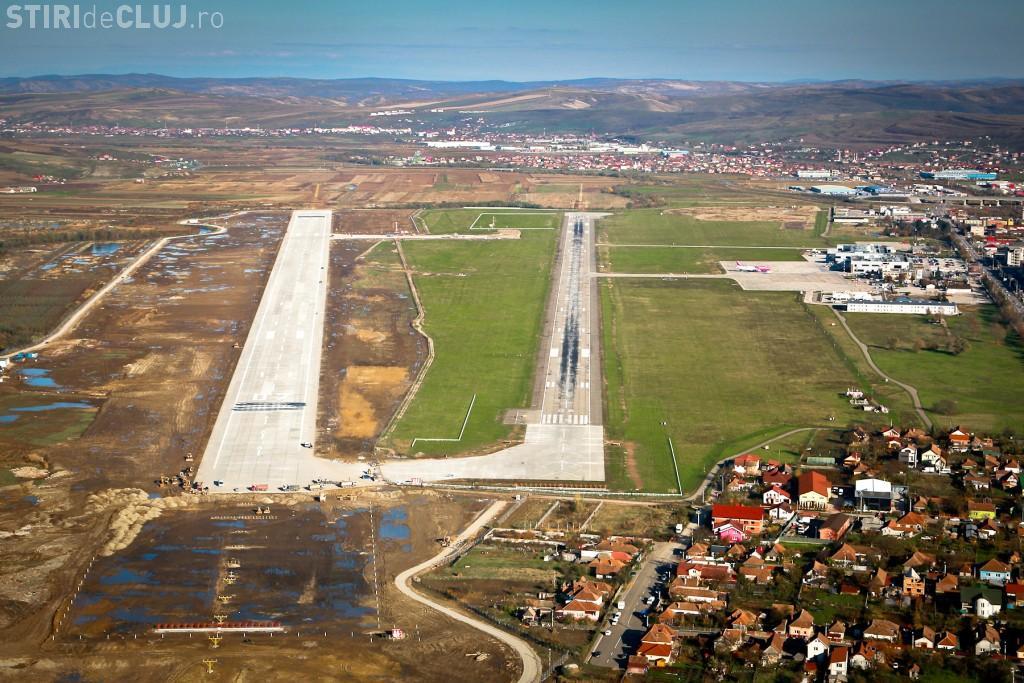Aeroportul Cluj va finanța din fonduri proprii extinderea pistei. De ce este VITALĂ? - VIDEO
