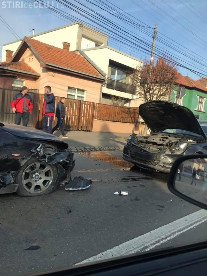Accident în Grigorescu, în Piața 14 Iulie - VIDEO