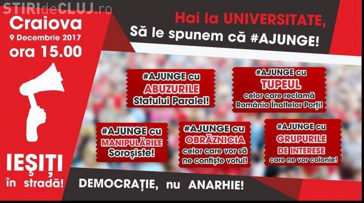 PSD face proteste cu haștagul #AJUNGE. Mitingurile încep sâmbătă