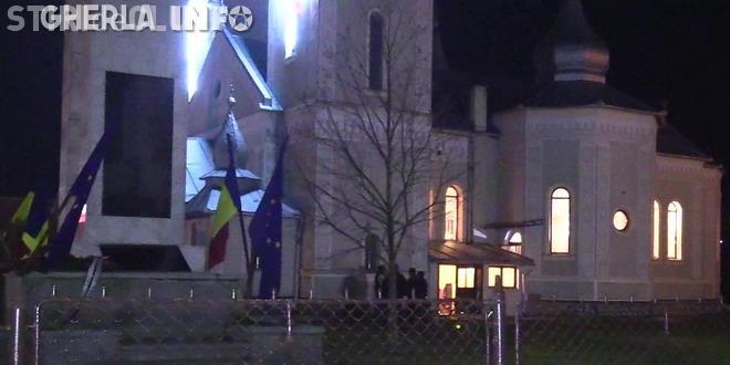 Spargere la biserică în Iclod. Hoții au fugit cu o icoană VIDEO