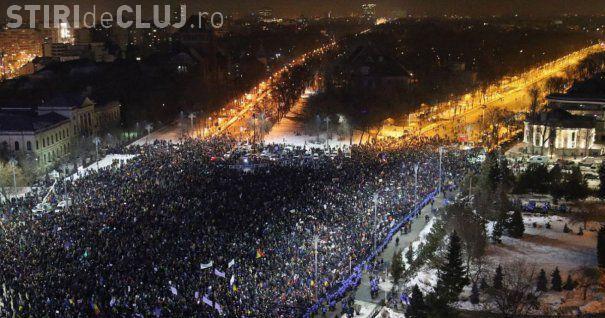 Logica unui lider PSD: Dacă la protestul de sâmbătă au participat 100.000 de persoane, rezultă că 20 de milioane nu au fost de acord