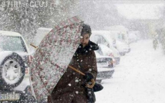 METEO: Frig și precipitații în toată țara, până duminică seara