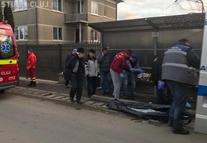 Un bărbat a murit într-o stație de autobuz din Florești