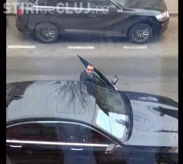 Patronul firmei ZTour, Sofian Zereik, bruschează un șofer care i-a blocat parcarea - VIDEO/ UPDATE Poziția ZTour