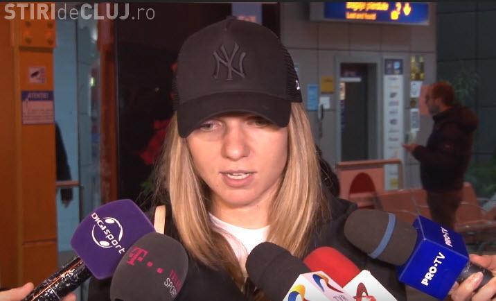 Simona Halep a ajuns la Cluj-Napoca