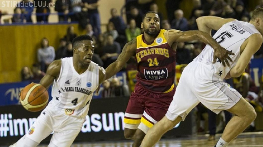 U Banca Transilvania s-a calificat în optimile FIBA Europe Cup