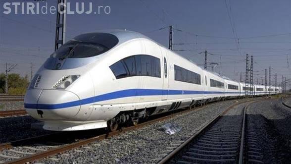 Tren de mare viteză între Cluj și Budapesta. Promisiune electorală?