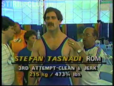 A murit Ştefan Taşnadi. Sportivul clujean a urcat pe podium la Olimpiada din Los Angeles