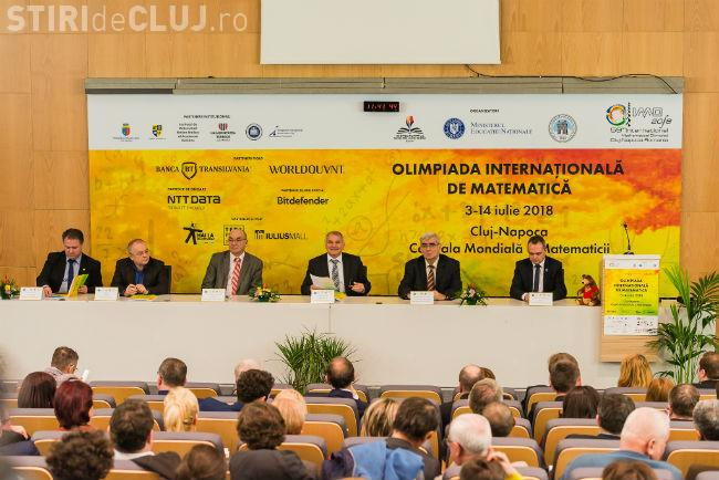 Consiliul Județean Cluj sprijină financiar Olimpiada Internațională de Matematică de la Cluj