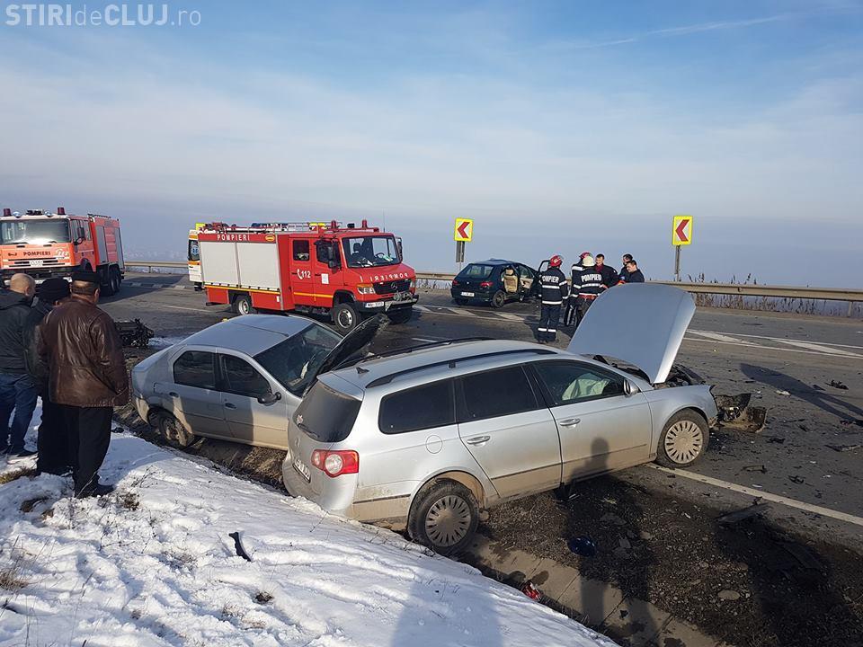 """A fost ARESTAT! Șoferul care a produs accidentul din """"curba morții"""" era BĂUT"""