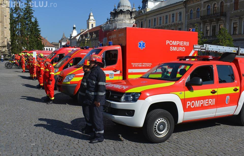 SMURD Cluj va primi o ambulanță nouă