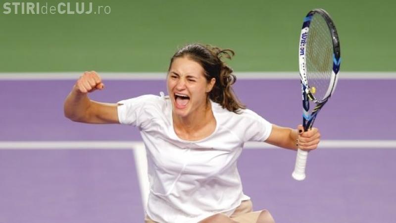 Monica Niculescu a bătut-o pe Maria Şarapova, la turneul de la Doha