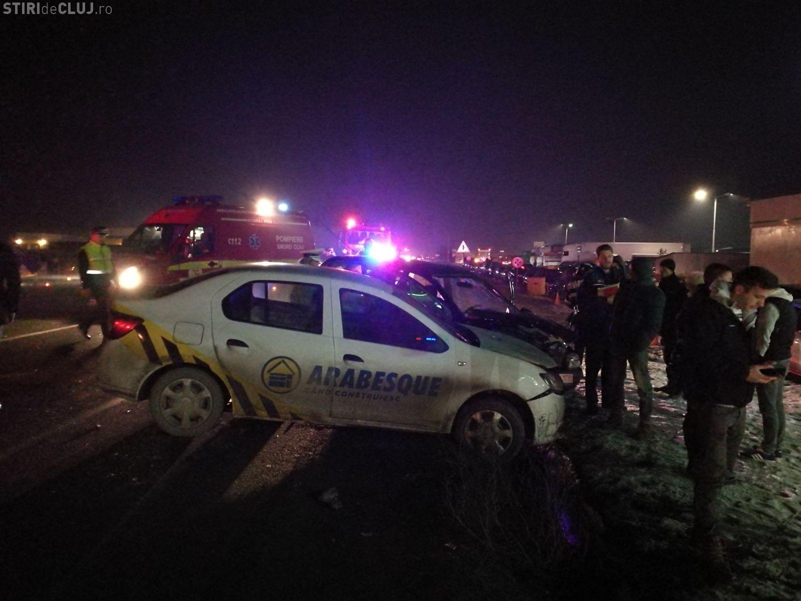 Accident între Florești și Gilău - VIDEO