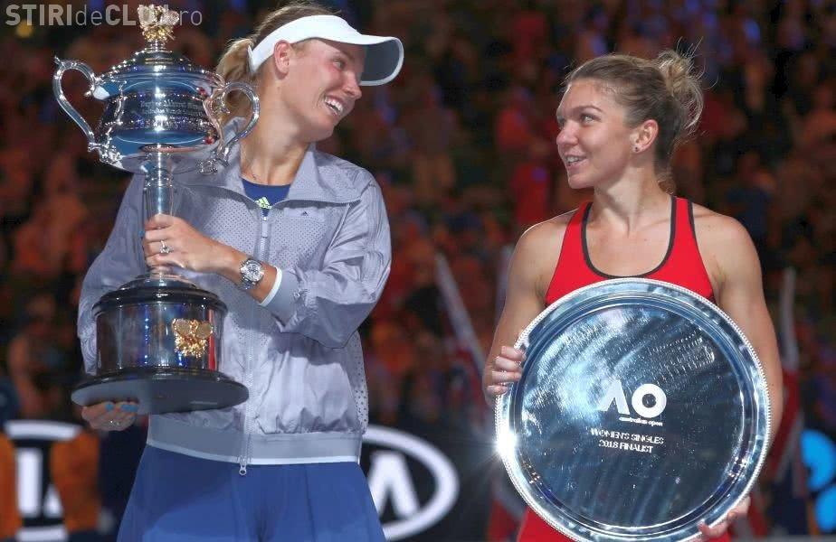 Mesajul emoționant al Carolinei Wozniacki, după finala cu Simona Halep